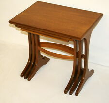 Vintage G-Plan Coffee Tables/Nest Of Tables-Great design. Restored .1960s.