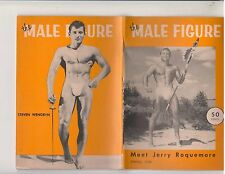The Male Figure Magazine Vol 8 Spring 1958 Jerry Roquemore Gay Interest muscle