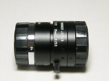 "Tamron 23FM35L high resolution C-Mount lens, F/2.1, 35mm FL, 2/3"", lock screws"