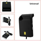 Universal Smart card reader is for SD TF M2 MS bank card ID card SIM card Black