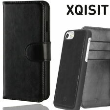 Xqisit iPhone 6+ 6S+ Eman Wallet Case Magnetic Leather Flip Book Cover Black