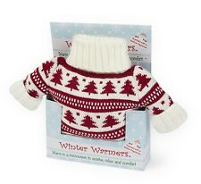 Intelex Microwavable Winter Warmer Christmas Jumper Hot Water Bottle Xmas Gift