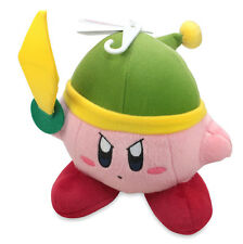 "Link / Sword Kirby 6"" Stuffed Plush USA Little Buddy Official Kirby Adventure"
