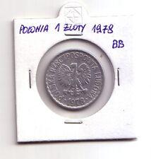 Polonia Polska   1 zloty 1978    BB    (m90)