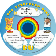 Kinderlieder Das Sternchen bist DU  - personalisiert über 400 Namen