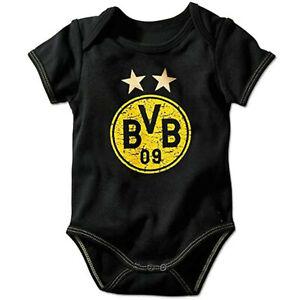 BVB Borussia Dortmund Babybody Emblem Größe 50/56 100% Baumwolle
