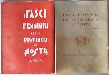 libro fascismo duce canavese Aosta Ivrea cuorgne verres settimo vittone Cogne