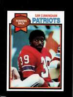 1979 TOPPS #421 SAM CUNNINGHAM NMMT PATRIOTS NICELY CENTERED  *XR15548