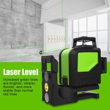 8 Line 360° Rotatif Niveau Laser Auto Niveau à Angle Droit Horizontal Vertical
