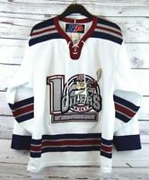 "Tulsa Oilers Hockey Vintage SP ""10 Years of Oilers"" Jersey Sewn On Patch Size S"