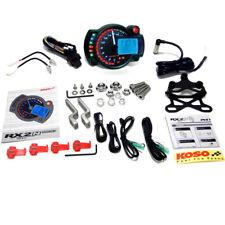 Speedometer Tachometer Temperature Cockpit KOSO Rx2n Motorcycle Quad GP Style