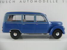 Busch 51251 Framo V901/2 Bus (1954) in blau 1:87/H0 NEU/OVP