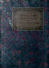 Carteggio Contratti Scritture Elvira Castellani Moscheni Eredità Vecchietti 1848