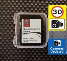 Nissan Connect 1 V10 Navigation SD card 2020/2021 Cube Juke Note Quashqai X Trai