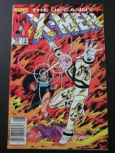 Uncanny X-Men #184 VF Newsstand Edition 1984