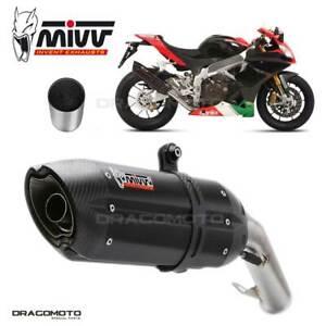 APRILIA RSV4 APRC Exhaust MIVV Suono 2011-2016 Steel Black + Kat