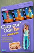 1983 Kenner Glamour Gals Loni With Jewelry Doll 51520 Unpunched Moc