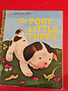 The Poky Litle Puppy - Little Golden Book good condition