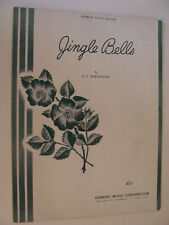 Christmas Jingle Bells 1946 J S Pierpont piano lyrics