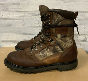 Cabela's Iron Ridge Real Tree Infinity Lace up Hunting Boots Mens Size 10.5 D