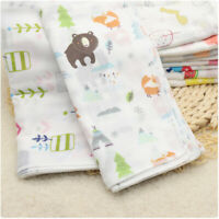 10/5 PCS Baby Newborn Gauze Muslin Square 100% Cotton Bath Wash Handkerchief Set