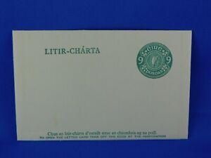 IRELAND EIRE POSTAL STATIONERY LITIR CHARTA   [S28/65]