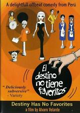 EL DESTINO NO TIENE FAVORITOS DVD CINE PERUANO PELICULA PERUANA NUEVA