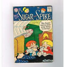SUGAR & SPIKE #8 Early Silver Age find from DC Comics! Grade 4.0
