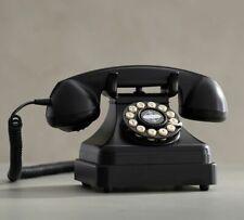 Crosley Black Kettle Classic Desk Phone with Push Button Technology Vintage NIB