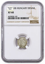 Random Date 1450-1620 Hungary Silver Denar Madonna & Child NGC XF40 SKU44475