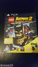 Lego Batman 2: DC Super Heroes limited Lex Luthor toy edition Jeu Ps3 Neuf & Scellé