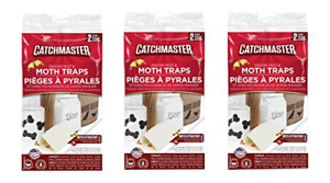 Catchmaster 812sd Pantry Moth Traps 6 Pack these traps are non toxic Indian Meal