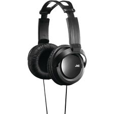 JVC HARX330 Full Size Over-Ear Headphones, allows for comfortable long listening