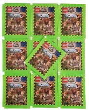 Blu Oceano Lego Jurassic World Stickerserie 10 Bustine di Figurine - 50 Adesivo