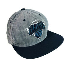 NY New York Knicks NBA Snapback Trucker Hat BallCap Mitchell Ness Nostalgia Co