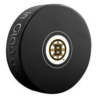 Boston Bruins NHL Team Logo Autograph Souvenir Hockey Puck