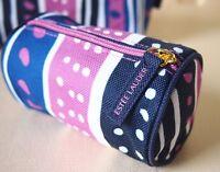 ESTEE LAUDER Purple & Blue Makeup Cosmetics Bag, Small Size, Brand NEW!!