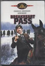 BREAKHEART PASS Charles Bronson Ben Johnson Charles Durning NEW MGM WESTERN DVD