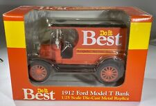 1912 Ford Model T Piggy Bank Do it Best Die-Cast 1/25 Scale New in Box!
