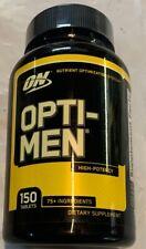 Optimum Nutrition, Opti-Men, Total 150 Tablets