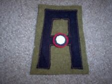 WWI US Army patch First Army Air Service Aero Aviation Unit Patch