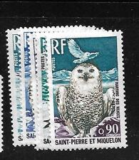 ST PIERRA AND MIQUELON (P1602B) BIRDS SC 423, 425-8  MNH