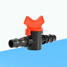 HOT Water Hose Pipe Drip Plastic Connector Irrigation Barb Ball Valve Hot Garden
