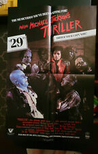 Making Of Thriller, Michael Jackson (1983) Video Store Promo Poster / VERY RARE