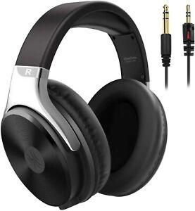 Oneodio Kopfhörer Over Ear Wired Hifi Studio Kopfhörer helles silber