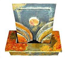 StoneArt Schieferbrunnen Brunnen Luftbefeuchter  Round Layered Slate 40x40x20cm