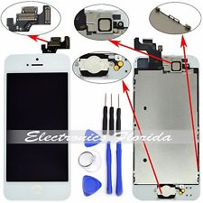 ✔ LCD Touch Screen Digitizer Full Assembly Replacement for iPhone 5 White/Black