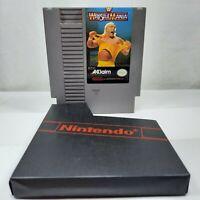 WWF WrestleMania (Nintendo Entertainment System, 1988) Tested & Works