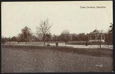 SWINDON postcard Town Gardens