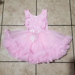 Popatu Dress Size 24 Month Baby Girl Pink  Ruffles Tutu Party Pageant Toddler